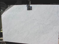 Slab Marble White Carrara